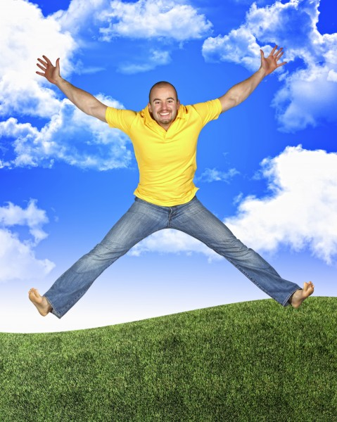 risata sorrisi saltare balzare saltellare salta