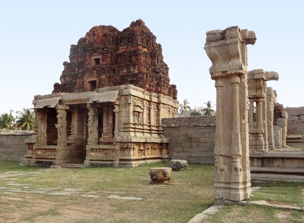 achyutaraya, temple, at, vijayanagara - 7422925