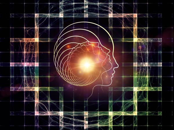 profilo accordo composizione spazio faccia uomo