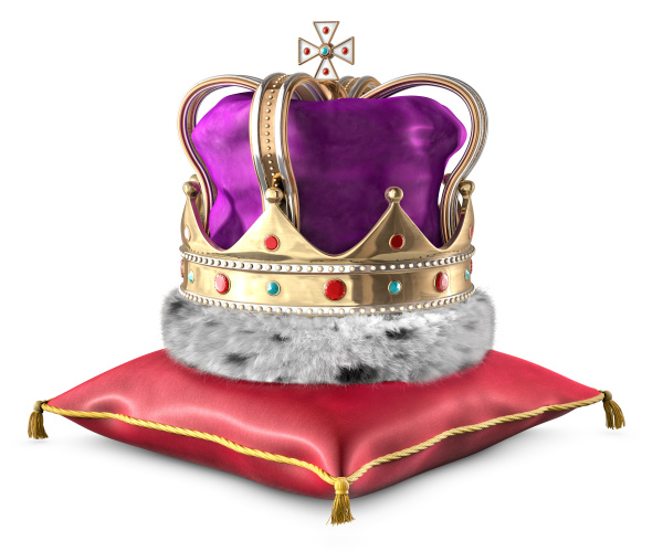 corona e cuscino