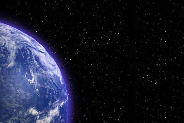 spazio universo sistema solare globo terra