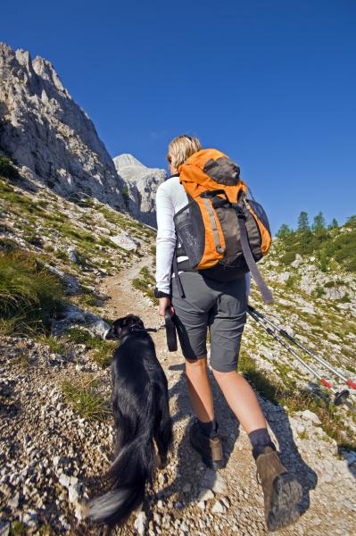 escursionismo a piedi