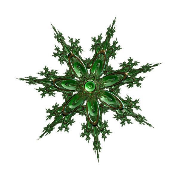 verde argento festivo stella stella di