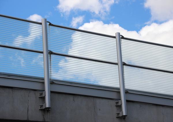 bicchiere moderno barriera ringhiera recinzione siepe