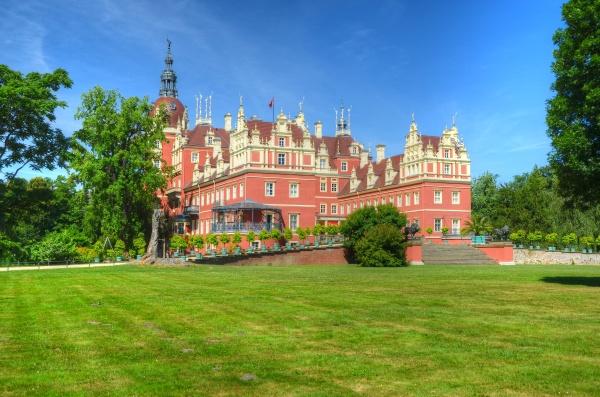 castello nel principe pueckler parco