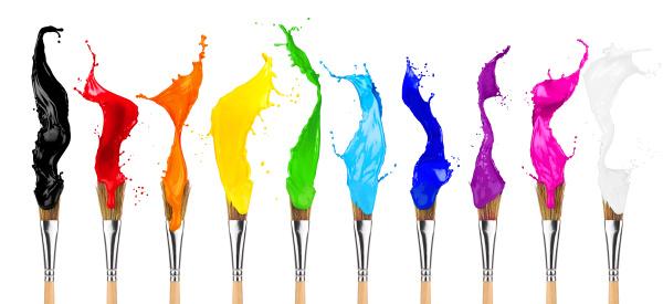 colore colorato splash paintbrush fila