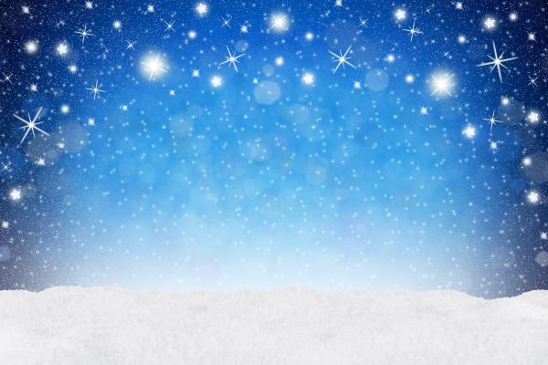 xmas sfondo neve blu