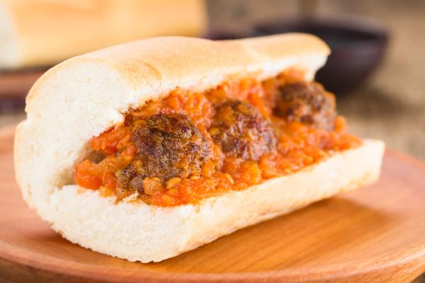 sandwich polpetta