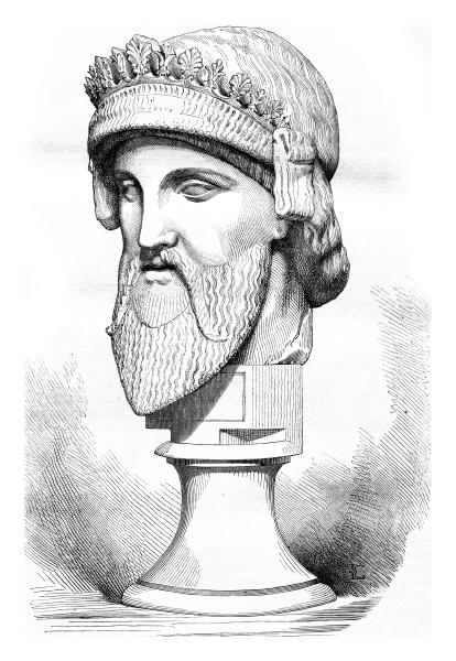 museo del louvre giove trophonius busto