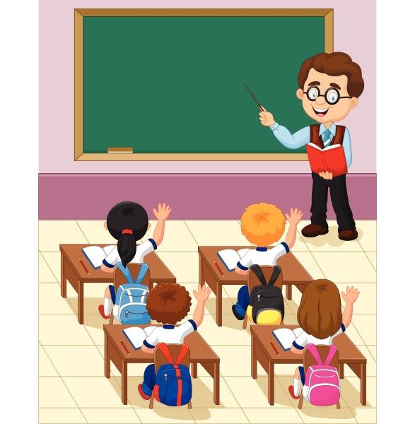 cartone animato bambino piccolo uno studio