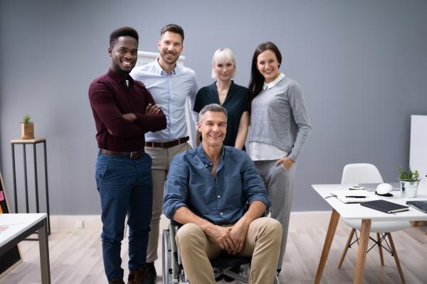 team aziendale di successo