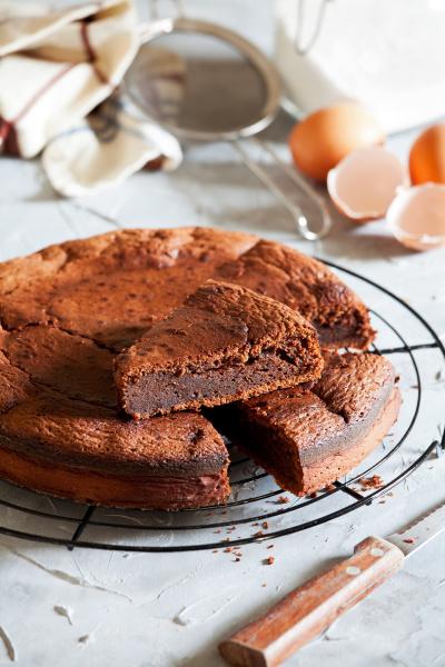 dolce, torta, al, cioccolato, fatta, in - 28215307