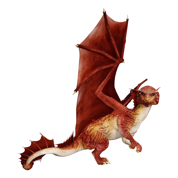 rendering, 3d, fairy, tale, dragon, su - 28217977