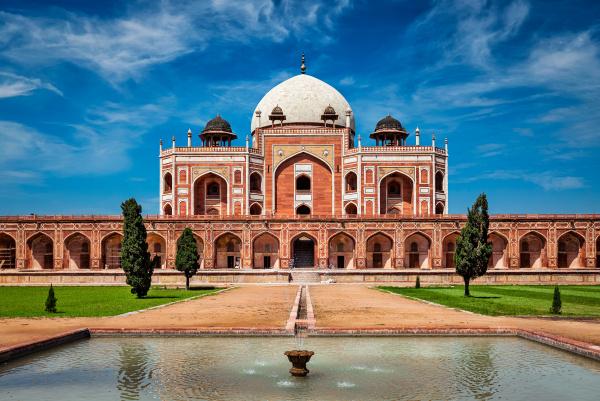 humayun's, tomb., delhi, , india - 28471578