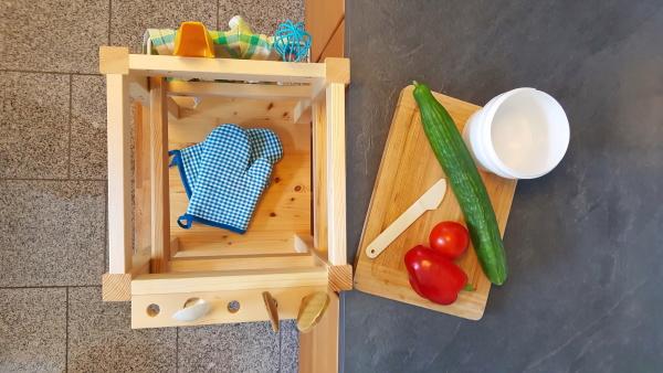 istruzioni per ledilizia sgabello legno bambino