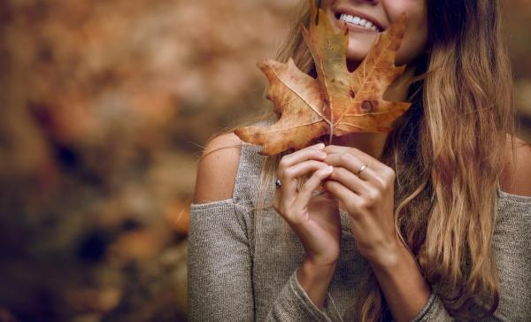 l autunno e qui