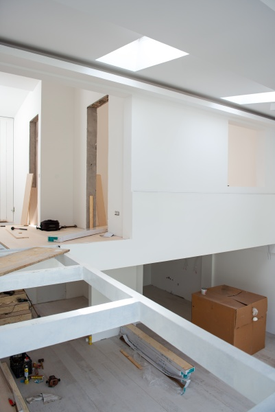 interno di appartamento a due livelli