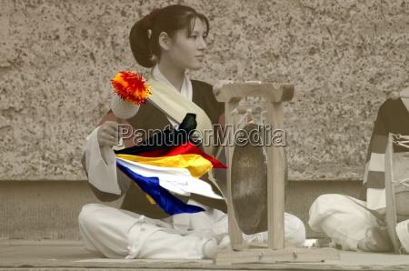 donna musica cultura colore asia colorato
