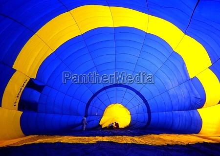 blu sport dello sport palloncino mongolfiera