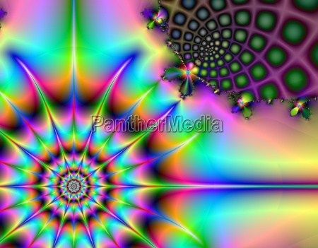 discoteca esperimento universo ruota colorato potenza