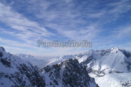 inverno paradiso freddo austria atmosfera sguardo