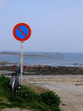 vacanza vacanze francia costa bretagna parcheggiare