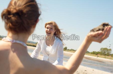 donna blu risata sorrisi donne gioco