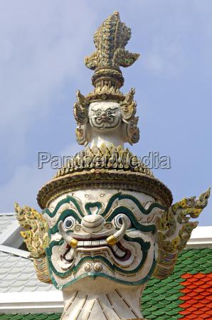 tempio arte statua denti asia selvaggio