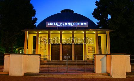notte stile di costruzione architettura planetario