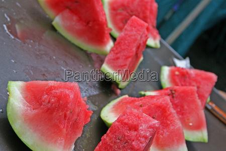 verde ristoro frutta melone anguria rosso