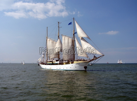 storico navigazione vela acqua mar baltico