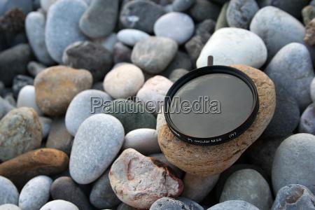 pietra sasso riva del mare spiaggia