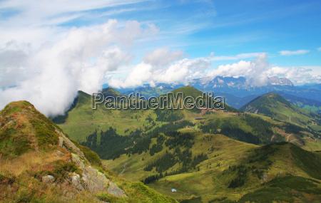 montagne alpi vertice sguardo vista picco