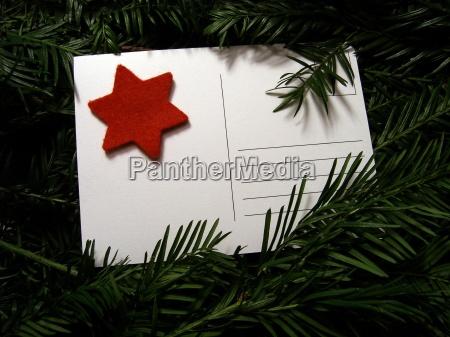 avvento cartolina posta dicembre natale weihnachtspost