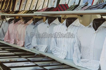 a strisce fila camicia vendita decorato