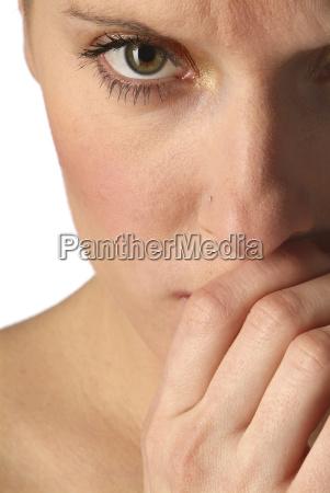 la donna e timido