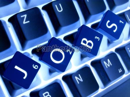 blu tastiera lettere parola affare affari