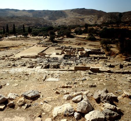 grecia scavo palazzo creta
