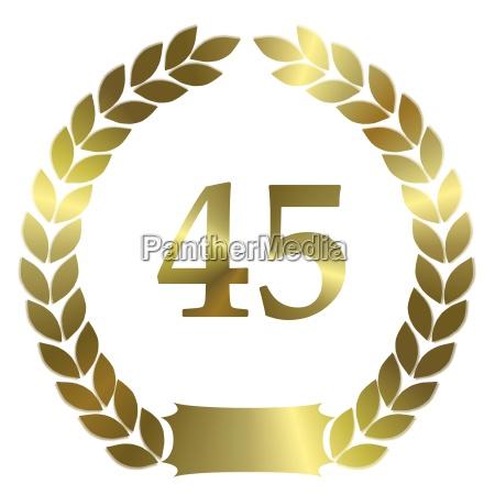 anniversary 45 years