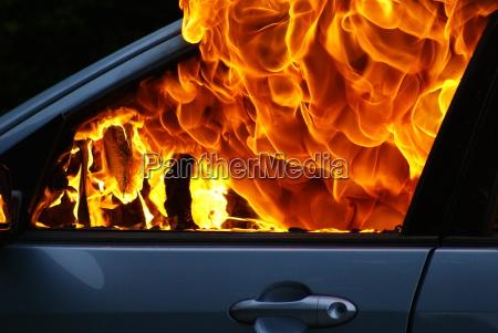 macchina ardente