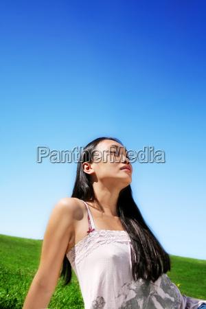 ritratto, di, bellezza, della, natura - 727332