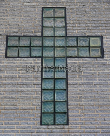fede croce muro muro di casa