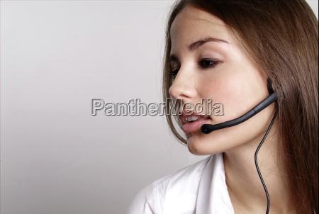 donna conversazione serieta ufficio servizio ascoltare