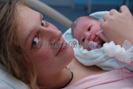 anne dopo la nascita
