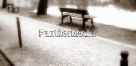 aspettare attesa relax parco giardino inverno