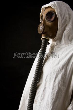 guerra proteggere gas militare mascherina radioattivo