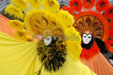 bello bella colorato venezia festa carnevale