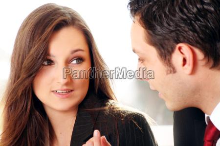 donna ritratto affare affari lavoro professione