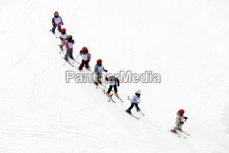 scena invernale