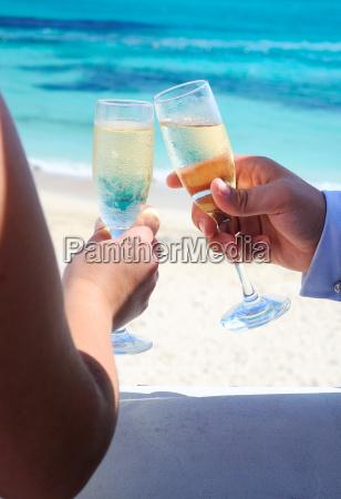 toast chanpagne